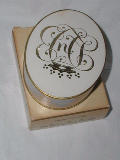 Vintage Antique Art Deco Richard Hudnut Dubarry Powder Box