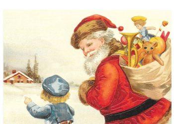 Father Christmas Santa Claus Post Card 3033