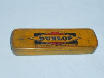 Vintage Dunlop Cycle Repair Outfit Tin