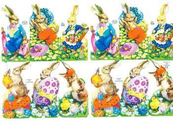 0920 Easter Egg Bunny Rabbit