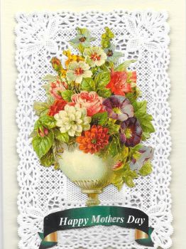 Paper Lace Mothers Day Card