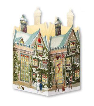 Mini house advent calendar Christmas Lantern
