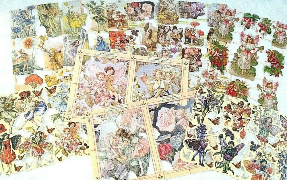 Scrap Set 26.  Flower Fairy's Set 1 x 9 Sheets