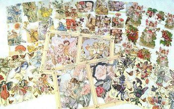 Scrap Set 27.  Flower Fairy's Set B x 9 Sheets