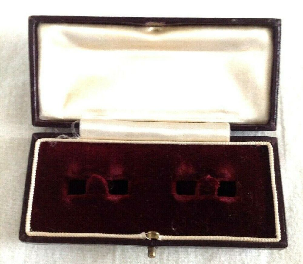 Antique Brooch Pin Jewellery Display Box Mathew H Joy