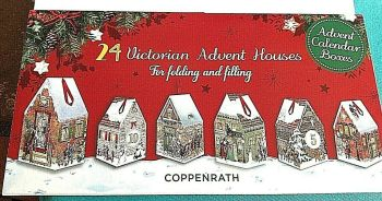 Christmas advent calendar gift box's for chocolates or presents Antique style