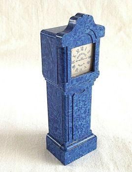 Vintage Antique bourjois evening in Paris grandfather clock for perfume bottle