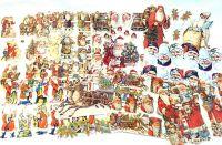 Scrap Set 29. Santa Claus Belsnickle x 10 Sheets