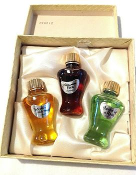 Vintage Dubarry Perfume Scent Bottle Miniature Set