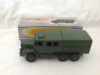 Dinky Supertoys 689: Medium Artillery Tractor toy boxed excellent condition