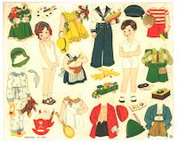Cut Out Sheets Dress Me Dolls