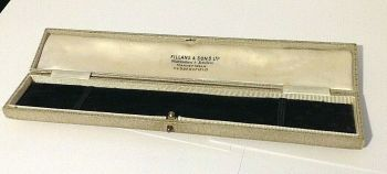 Antique Jewellery display box bracelet Fillans & Sons Huddersfield