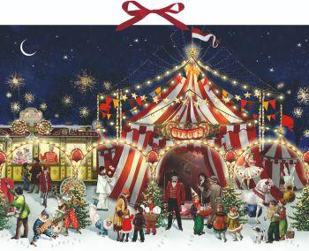 Advent Calendar Christmas at the Circus