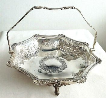 Antique silver plate dish Liberty & Co