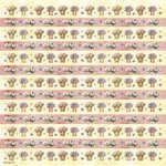 DFT080 Flowerpot Chintz Flower Decoupage Tissue Paper