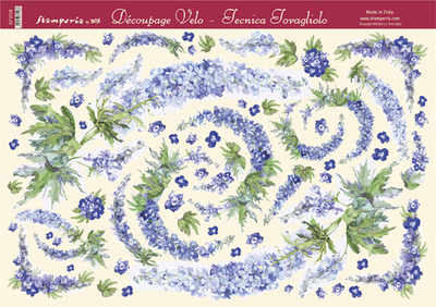 DFV120 - Blue Delphinium ON SALE