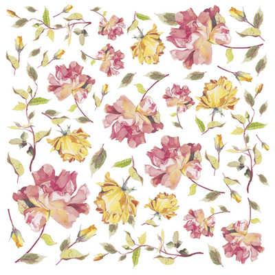 DFT 167 Yellow Roses