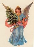 Angel Christmas Garland Decoration
