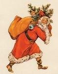 Santa Claus Garland