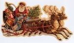 Reindeer Christmas Garland