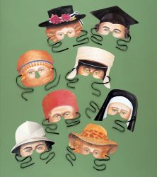 Party Pairs Masks