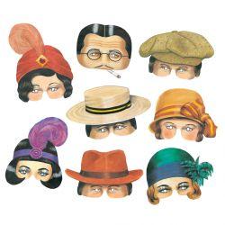 Roaring Twenties Masks