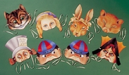Alice In Wonderland Masks