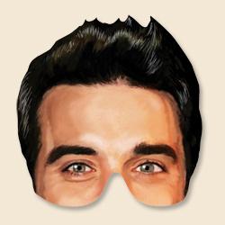 Robbie Wilianm Mask