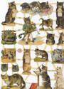 7288 - Cats Three Little Kittens Nursery Ryhme