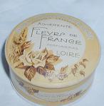 Vintage Loire Flevrs de France Powder Box