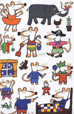 1938 - Mouses Houses Pirates Ballerinas Mices