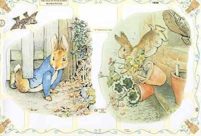 1838 , Beatrix Potter Peter Rabbit