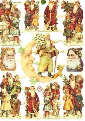 Santa Claus Father Christmas Victorian