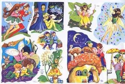 1554 - Fairies Elves Fairyland Magic Enchanted