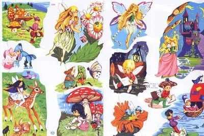1555 - Fairys Elves Fairyland Enchanted Magic