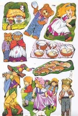 1794 - Nursery Rhymes Fairy Tales Goldilocks
