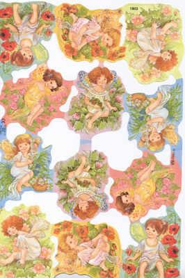 1803 - Babys Babies Flower Fairys Fairies