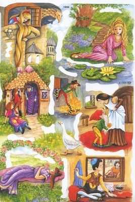 1856 - Fairy Tales Nursery Rhymes Sleeping Beauty