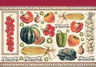 DFV009 - Vegetables Pepper Tomatoes Vines