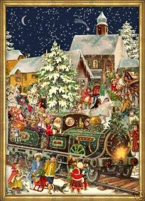 Advent Calendar Train