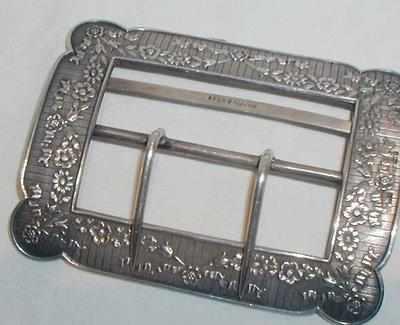 Silver Mappin & Webb Buckle