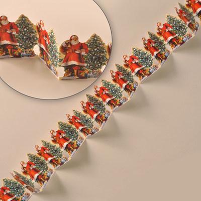 Santa Christmas Garland