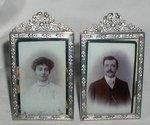 Antique Miniature Picture Frames