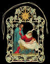 Mary Joseph Jesus Christmas Tree & Window Decoration