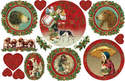 DFS 242 Victorian Christmas Cards