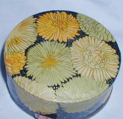 Vintage Poudre Amaryllis Lubin Powder Box