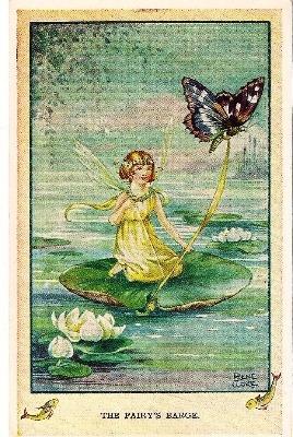 Vintage Rene Cloke Fairy Post Card