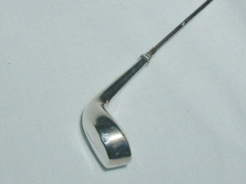 Sterling Golf Club Hat Pin