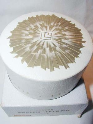 Vintage Art Deco Lucien Lelong Powder Box