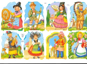 1311 - Children Fancy Dress Scrap